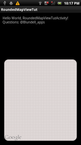 rounded MapView