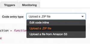 upload zip