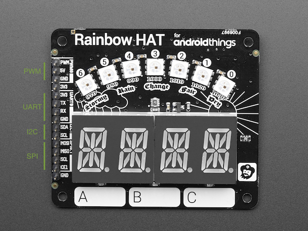 How to use an extra GPIO pin on Raspberry Pi Rainbow Hat | Blundell